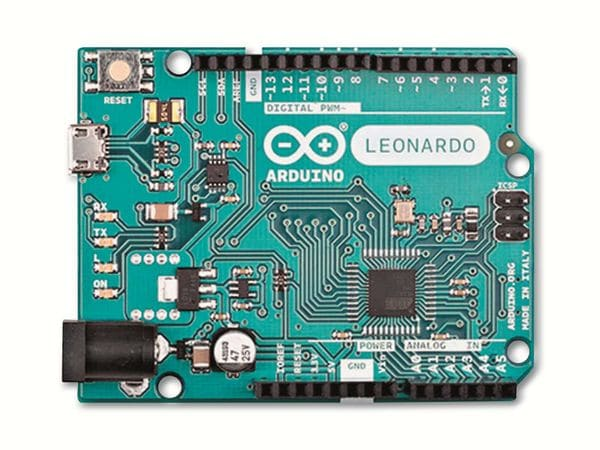 Arduino®, Board Leonardo (with Headers), A000057