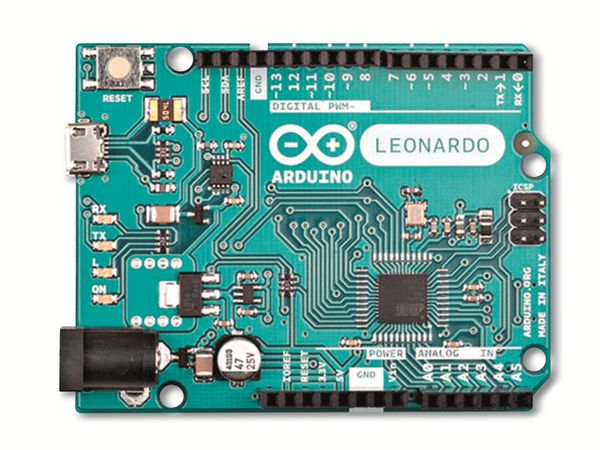 Arduino®, Board Leonardo (with Headers), A000057 - Produktbild 3