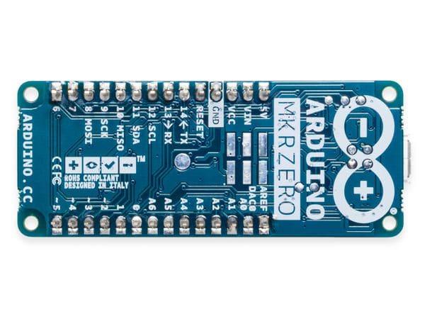 Arduino®, Board MKR Zero, ABX00012, (I2S Bus & SD f. Sound, Musik & digitale Audiodaten) - Produktbild 2