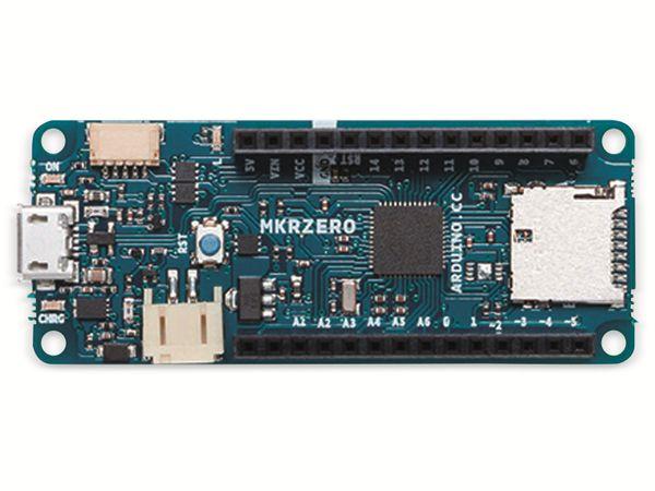 Arduino®, Board MKR Zero, ABX00012, (I2S Bus & SD f. Sound, Musik & digitale Audiodaten) - Produktbild 6