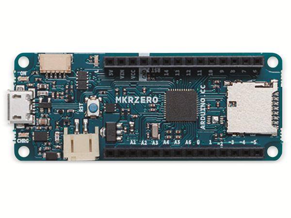 Arduino®, Board MKR Zero, ABX00012, (I2S Bus & SD f. Sound, Musik & digitale Audiodaten) - Produktbild 7