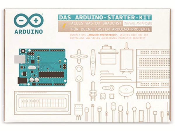 Arduino®, Set Starter Kit German / Deutsch, K040007