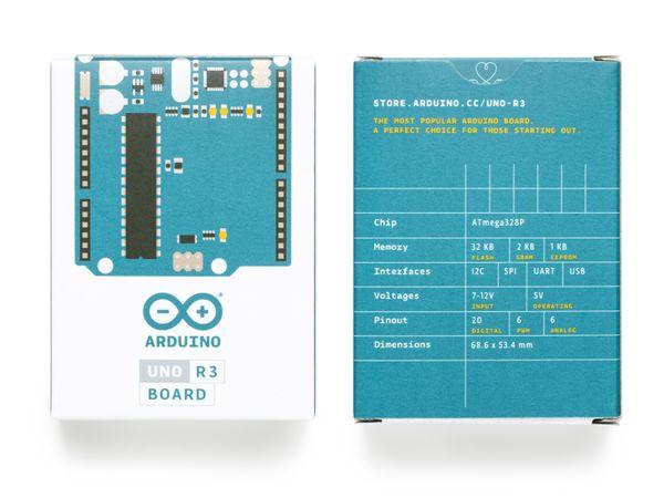 Arduino®, Uno Rev3, A000066 - Produktbild 3