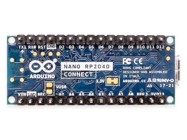 Arduino® Board NANO RP2040 CONNECT with headers - Produktbild 5