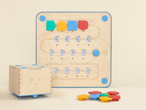 Lernpaket, Cubetto MINT Coding Roboter aus Holz ab 3 Jahren (Geeignet für Montessori)