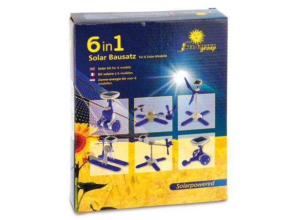 Solar-Modellbausatz für 6 unterschiedliche Modelle - Produktbild 2