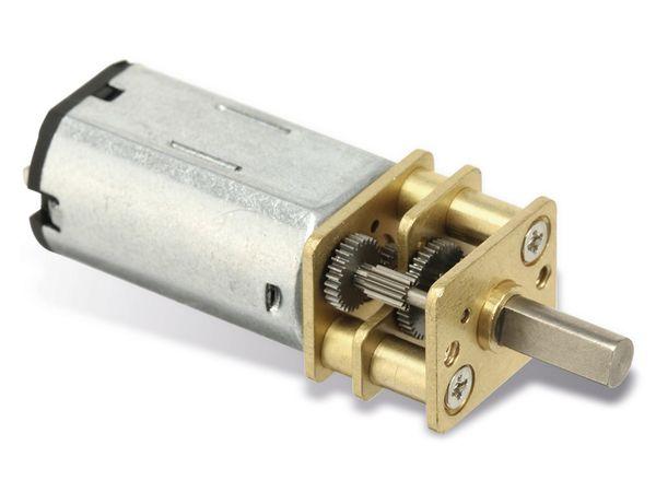 Gleichstrommotor G50 mit Metallgetriebe