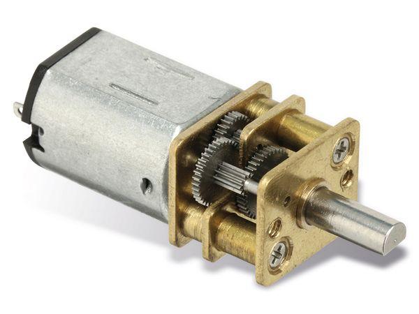 Gleichstrommotor G298 mit Metallgetriebe