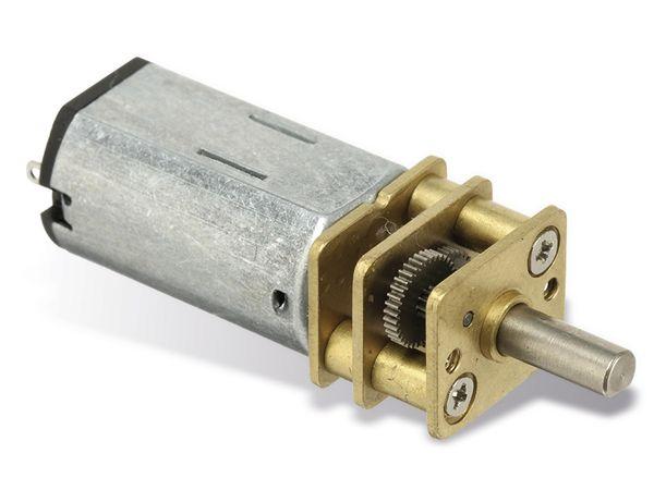 Gleichstrommotor G100-12V mit Metallgetriebe