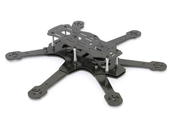 Hexacopter RAPITUS X6C Frame-Kit, Vollcarbon - Produktbild 2