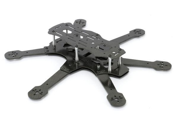 Hexacopter RAPITUS X6C Frame-Kit, Vollcarbon - Produktbild 3