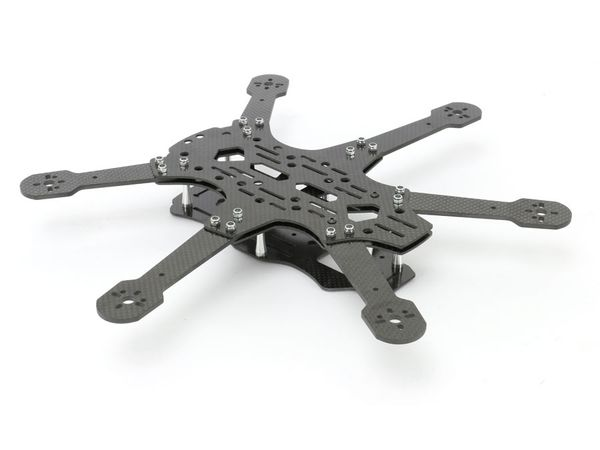 Hexacopter RAPITUS X6C Frame-Kit, Vollcarbon - Produktbild 5