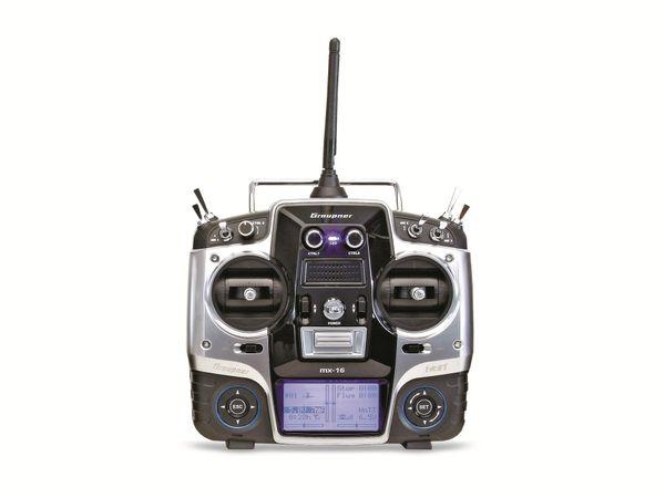 RC-Fernsteuerung Graupner MX-16 HoTT, 2,4 GHz, 8 Kanäle - Produktbild 1