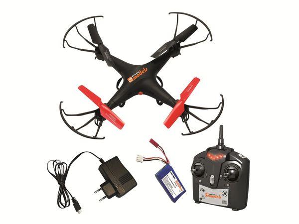 Modell-Quadrocopter mit HD-Kamera SkyWatcher 3 HD, RTF, 2,4 GHz - Produktbild 1