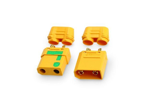 Hochstrom-Steckerset XT90-S, Anti-Spark, 1 Paar