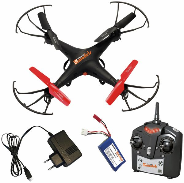 Modell-Quadrocopter mit HD-Kamera SkyWatcher 3 HD, RTF, 2,4 GHz, B-Ware - Produktbild 1