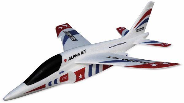 Wurfgleiter Alpha Jet PICHLER 470mm rot/blau