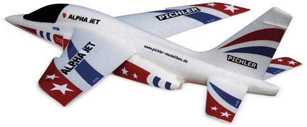 Wurfgleiter Alpha Jet PICHLER 470mm rot/blau - Produktbild 2