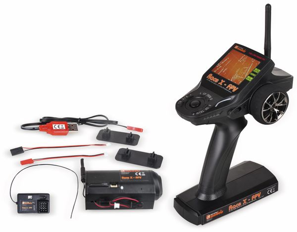 Fernsteuerung RACE X FPV, 2,4 GHz, mit Kamera - Produktbild 1
