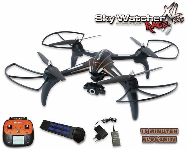 Modell-Quadrocopter SkyWatcher RACE XL PRO, WiFi, RTF, FPV