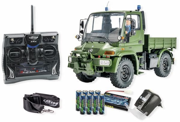 1:12 MB Unimog U300 Militär 2,4GHz 100% RTR - Produktbild 1