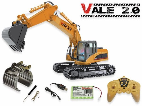 Vale 2.0 RC- Bagger- RTR- 1:14 Scale