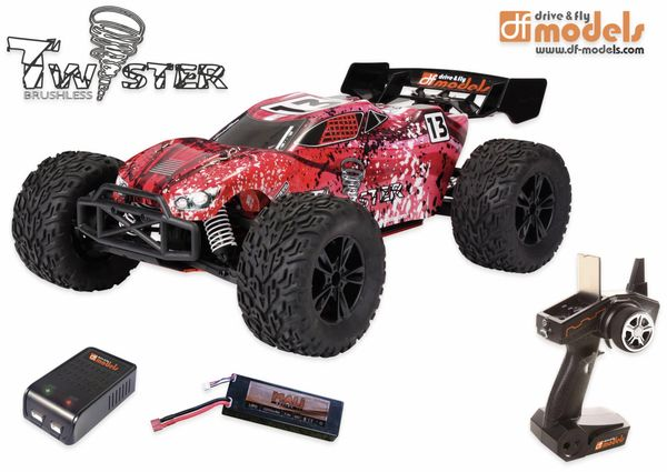 Twister brushless 1:10XL Truggy RTR, DF MODELS