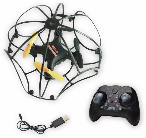 DF MODELS SkyTumbler Quadcopter, Indoor-Cage-Drone