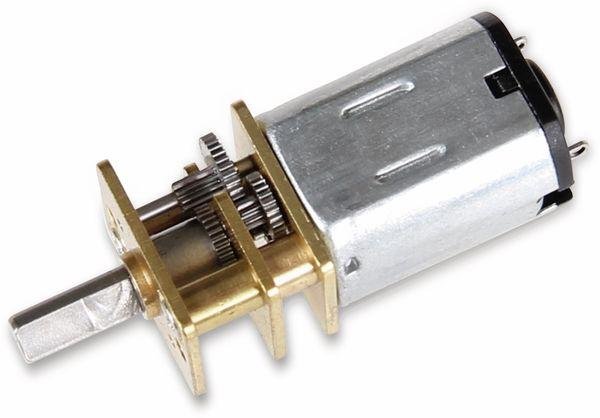 JOY-IT Mini Metallgetriebemotor mit Rad und Halter - Produktbild 3