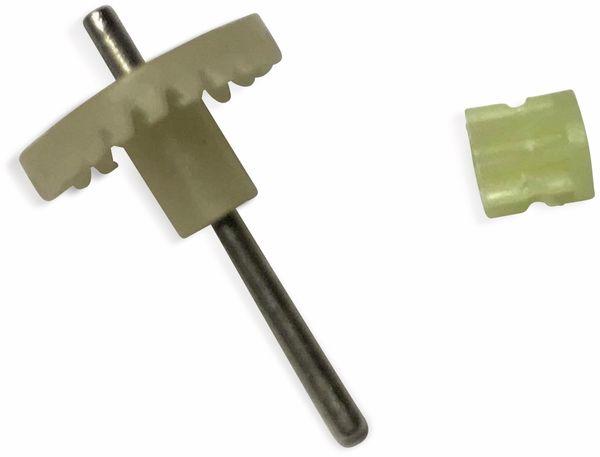 Zahnrad+Motorritzel für SkyWatcher N9300, 1. Version, weiß