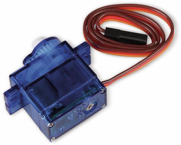 Servomotor FS90R, JOY-IT, 9g, Kontinuierlich drehend, analog - Produktbild 2