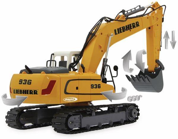 JAMARA Bagger Liebherr R936, 1:20, 2,4GHz, Destruction-Set - Produktbild 2