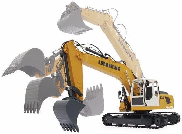 JAMARA Bagger Liebherr R936, 1:20, 2,4GHz, Destruction-Set - Produktbild 10