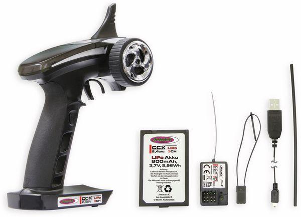 JAMARA Fernsteuerung CCX, 2,4GHz, LiPo 3 Kanäle - Produktbild 3