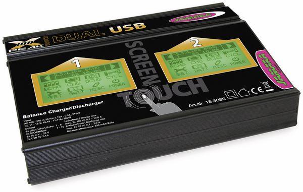 JAMARA Ladegerät X-Peak 100 Touch Dual USB