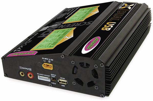 JAMARA Ladegerät X-Peak 100 Touch Dual USB - Produktbild 4