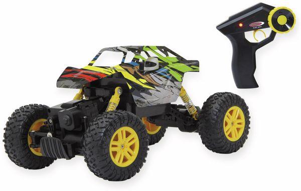 JAMARA Hillriser Crawler 4WD, gelb, 1:18, 2,4GHz
