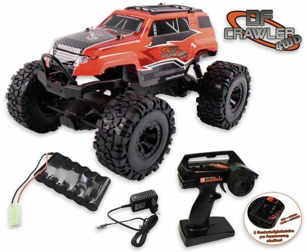 Crawler PickUp DF-MODELS, 1:10 RTR, 4WD, rot - Produktbild 5