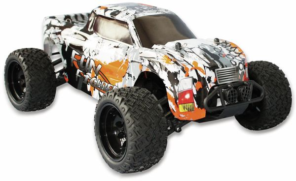 FunFighter Truck DF MODELS, 1:10 RTR, 4WD, 550er Burshed Motor - Produktbild 7