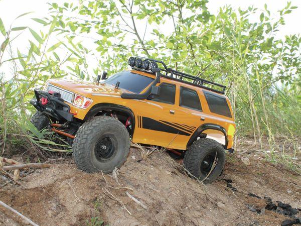 4S Scale-Crawler DF MODELS, 1:10 RTR, 4WD, 313 mm Edition - Van - Produktbild 3
