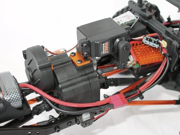 4S Scale-Crawler DF MODELS, 1:10 RTR, 4WD, 313 mm Edition - Van - Produktbild 7