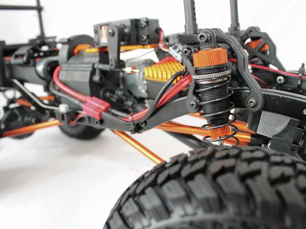 4S Scale-Crawler DF MODELS, 1:10 RTR, 4WD, 313 mm Edition - Van - Produktbild 10