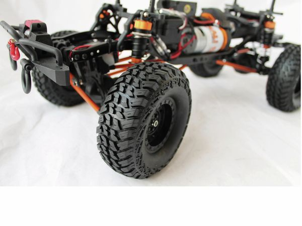 4S Scale-Crawler DF MODELS, 1:10 RTR, 4WD, 313 mm Edition - Van - Produktbild 11