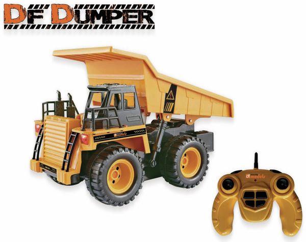 DF-Dumper - Muldenkipper No. 1590, Modell-LKW ferngesteuert