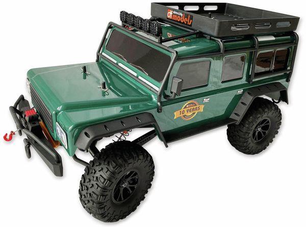 4J Crawler XXL DF MODELS, 1:10 RTR, 4 WD, 10 Year Edition, Racing green