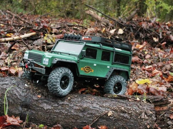 4J Crawler XXL DF MODELS, 1:10 RTR, 4 WD, 10 Year Edition, Racing green - Produktbild 3