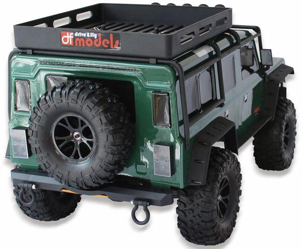 4J Crawler XXL DF MODELS, 1:10 RTR, 4 WD, 10 Year Edition, Racing green - Produktbild 5