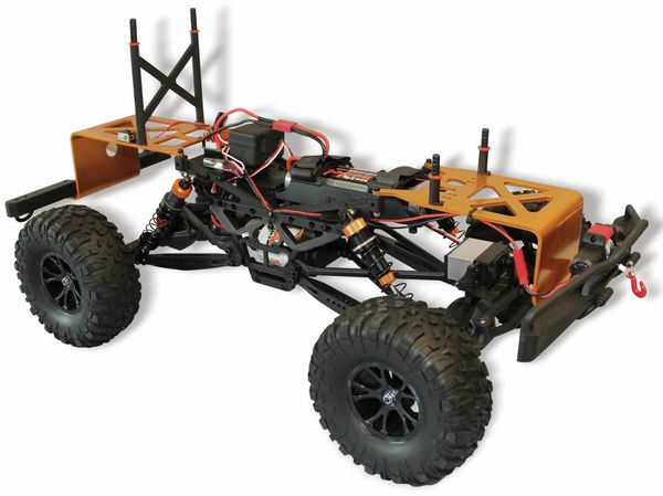 4J Crawler XXL DF MODELS, 1:10 RTR, 4 WD, 10 Year Edition, Racing green - Produktbild 6