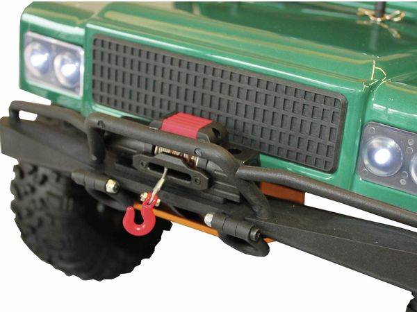 4J Crawler XXL DF MODELS, 1:10 RTR, 4 WD, 10 Year Edition, Racing green - Produktbild 8