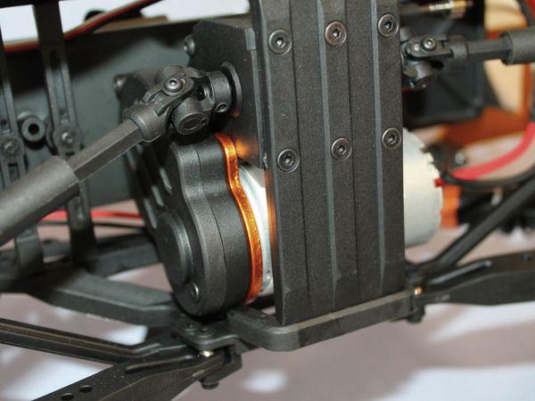 4J Crawler XXL DF MODELS, 1:10 RTR, 4 WD, 10 Year Edition, Racing green - Produktbild 11